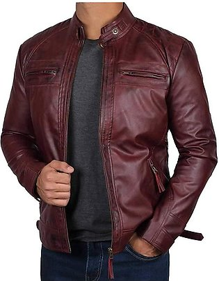 Pure leather Jacket for Men Sheep Skin Original