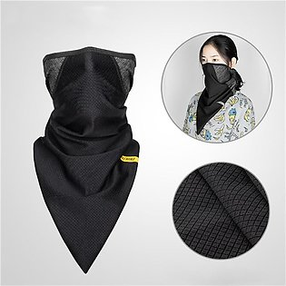 Coolchange Motorcycle Winter Outdoor Face Mask Wind-proof Neck Scarf Warm Headc…