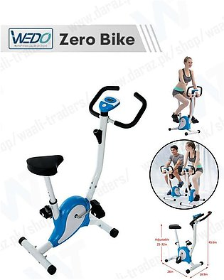 Exercise Bike with Magnetic Stationary, Cardio Fitness Cycle  Aerobic Equipment
