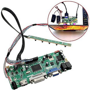 HDMI DVI VGA Audio LCD Controller Board PC Module Driver For 1366x768 B156XW02