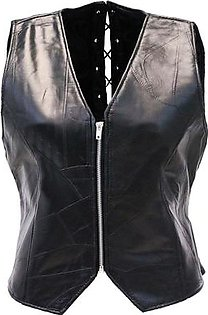 Feather hide Men, Women The Walking Dead Governor - Daryl Dixon Angel Wings Leather Black Vest