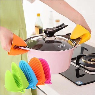 2Pcs/Pair Pot Holder Oven Silicone Pot Holder and Oven Mitt Grip -Bravo Store