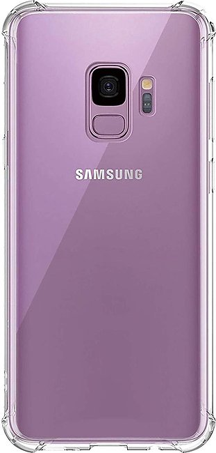 Galaxy S9, S9 Plus Case Crystal Clear Shockproof Bumper Protective Case for S...