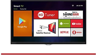 "AKIRA 55MS507 55"" Android 4K UHD LED TV with Built-in Satellite Receiver & So..."