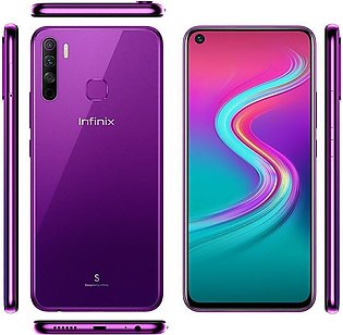 Infinix S5 Lite 16MP In-Display Selfie Camera & 6.6 inch Punch hole display -...