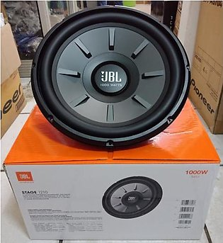 100% Original JBL 12 Inch Sub Woofer Heavy Duty Boombastic Bass With Double Mag…