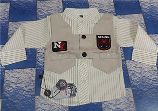 New beautifull style baby suit for boys 0-6 months skin color
