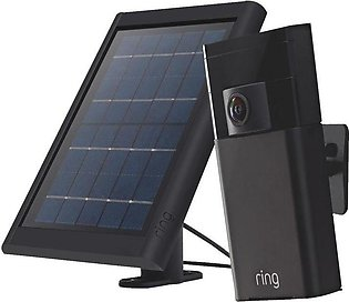 Stick Up Security IP Camera with Solar Charger