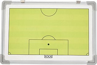 Portable Football Tactic Board Training Guide Double Sided Magnetic Tactic Boar…