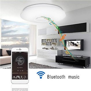 【Special Offer】48W Smart WiFi Bluetooth RGB LED Ceiling Light Speaker Lamp For …