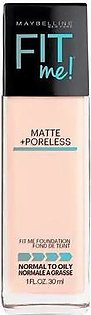 FIT ME® MATTE + PORELESS FOUNDATION 115 SHADE