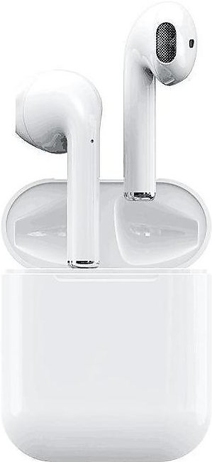 i12 TWS Airpods | High Quality with High Bass | White