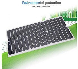 18V 18W portable solar panel polycrystalline solar panel PET white lamination for outdoor car, car, camper batteries