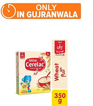 Nestle CERELAC Wheat 350g - Baby Food (One day delivery in Gujranwala)