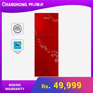 Changhong Ruba - 11 cubic feet Glass Door - CHR-DD338G Refrigerator