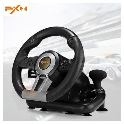 Racing Wheel pnx for PlayStation 4, 3 & PC - Black