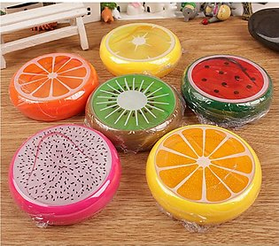 Fruit Shape Pack Of 6 Colorful Jelly Soft Slime Scented Stress Relief Toy Slu...