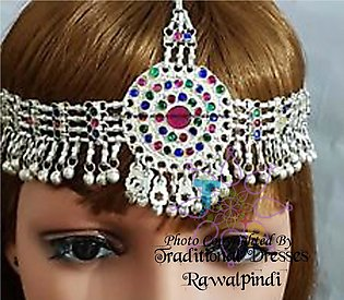 full imported matha patti beauityfull branded hair chain stunning shinning ma...