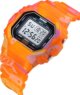 SKMEI Sports Fashion  LED Light Chrono Waterproof Outdoor Digital Watches for M…