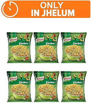 Knorr Noodles Chatpata Pack of 6 (One day delivery in Jhelum)