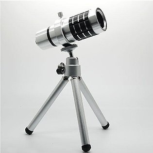 18X Smartphone Optical Zoom Telescope Lens With Tripod For All Mobiles