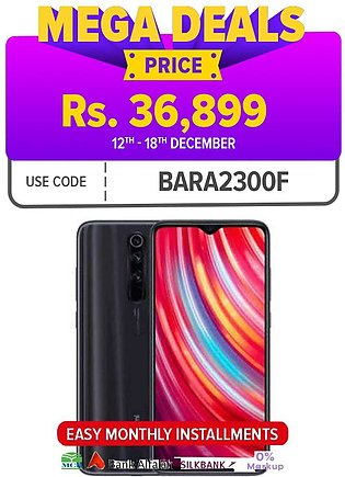 Redmi Note 8 Pro - 6GB RAM - 64GB ROM - 64 MP Quad Camera - 4500 mAh Battery