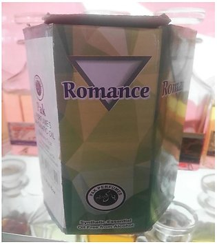 Pack of 12 Romance Alcohol Free Attar economy size