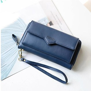 Women Fashion Long  Purse Wallet Clutch Ladies Purses Card Holder Phone Bag