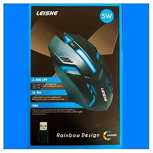 Gaming Mouse - 3200Dpi Adjustable - 7 colors Led Mouse