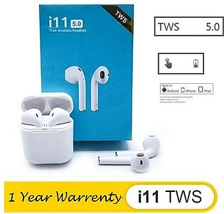 I11 TWS Touch Wireless Earphones Bluetooth Earbuds Stereo Headset Headphone 1...