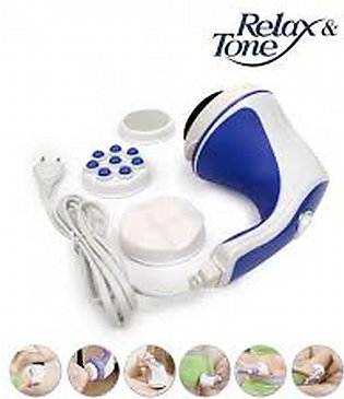 5 in 1 Full Relax Tone Spin Body Massager 3D Electric Full Body Slimming Massag…