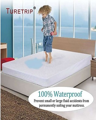 Waterproof Double Mattress Protector Sheet Size 72X78