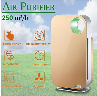 Air Purifier True HEPA Filter Allergies Eliminator Ionizer Cleaner Dust PM2.5...