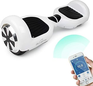 Smart Balance Electric Scooter Hoverboard Bluetooth Speaker Motorized Adult R...