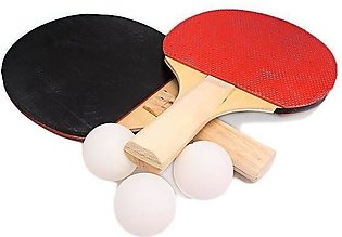 Table Tennis Racket With 3 Balls