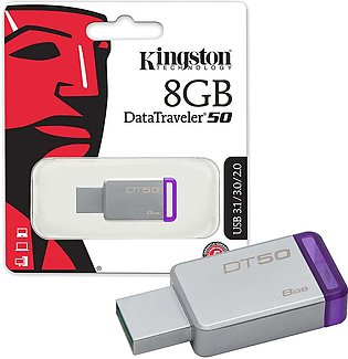 Kingston 8GB USB 3.0 Data Traveler 50