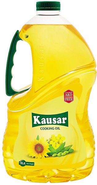 Kausar Cooking Oil - 5Ltr Bottle