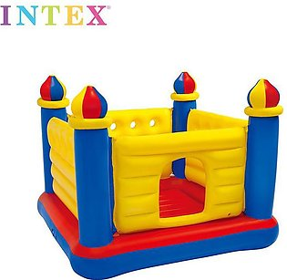 Intex - JumpOLene Castle Inflatable Bouncer - For Ages 3+