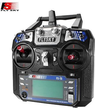 The Old Tree FlySky i6 FS-i6 2.4G 6CH AFHDS RC Transmitter Without Receiver M...