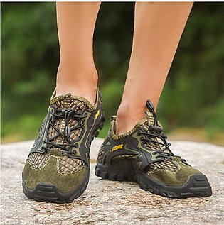 Cross-border large size mesh shoes for men new style outdoor sports shoes for m…