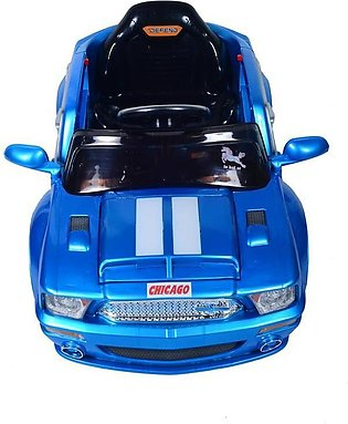Battery Operated Car for Kids - 12SP-8856 - Blue