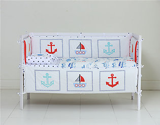 Cot bedding Ahoy 9 Pieces Set for Babies by SEJ