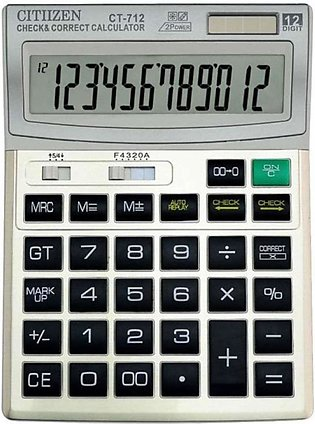 CALCULATOR CT-712 - 12 Digits