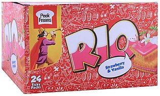 Peek Freans Rio Strawberry & Vanilla Biscuit, 24 Ticky Packs
