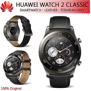Huawei Watch 2 Classic Smart Fitness Tracker Titanium Grey Original