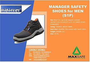 MANAGER SAFETY SHOES for MEN (S1P)