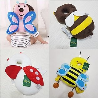 Baby Toddler Head Protection Pad Headrest Pillow Neck Baby Pillow With Straps B…