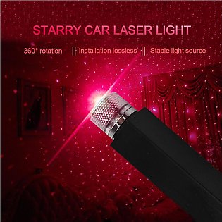 Universal Mini LED Car Roof Star Night Lights Projector Light Interior Ambien...