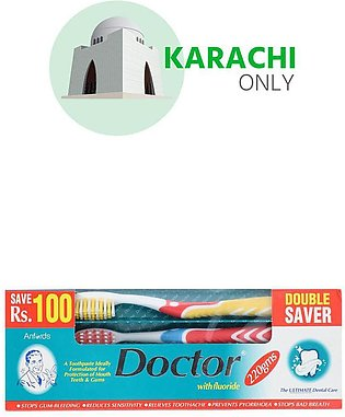 Doctor Tooth Paste Saver Pack (220g)