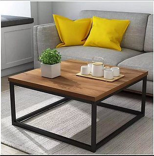 Cherry Tree Furniture CLIVE Mid-Century Style Walnut Color Coffee Table Side Ta…